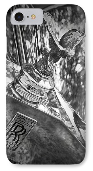 IPhone Case featuring the photograph Spirit Of Ecstasy by Alan Raasch