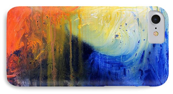 Spirit Of Life - Abstract 7 IPhone Case by Kume Bryant