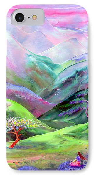 Spirit Of Spring Phone Case by Jane Small