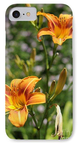 Spirit Of Summer IPhone Case by Luke Moore