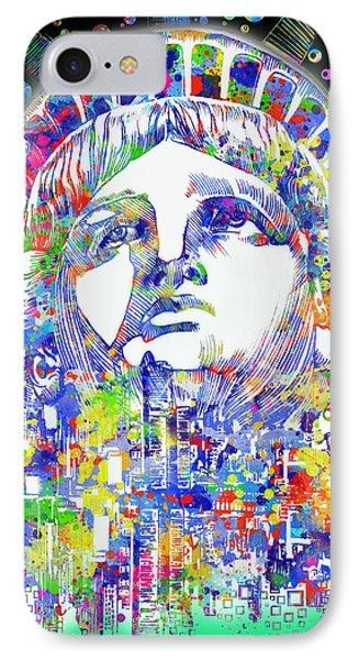 Spirit Of The City 4 IPhone Case by Bekim Art