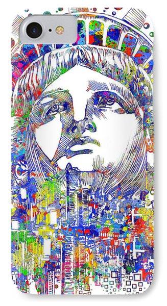 Spirit Of The City IPhone Case by Bekim Art