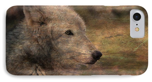Spirit Of The Wolf IPhone Case by Deena Stoddard