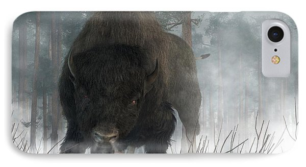 Spirit Of Winter IPhone Case by Daniel Eskridge