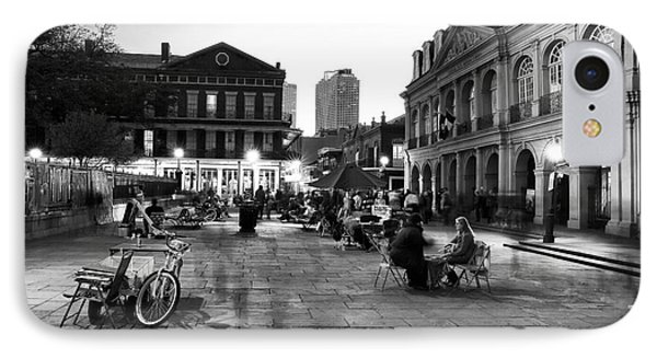 Spirits In Jackson Square Phone Case by John Rizzuto
