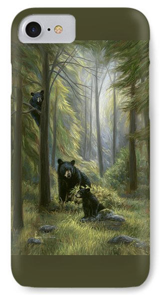 Spirits Of The Forest IPhone Case by Lucie Bilodeau