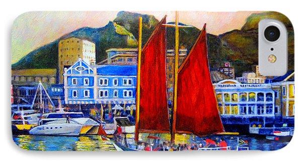 Spirit's Sunset Sail IPhone Case by Michael Durst