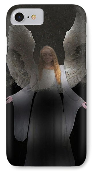 IPhone Case featuring the photograph Spiritual Angel by Eric Kempson