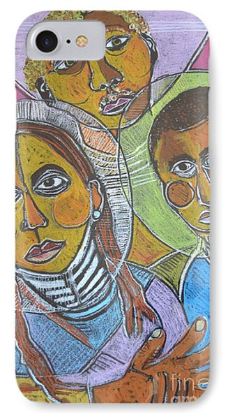 Spiritual Bonding IPhone Case by Robert Daniels