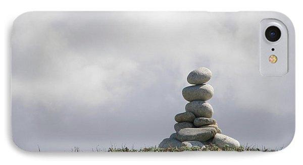 Spiritual Rock Sculpture IPhone Case by Bev Conover