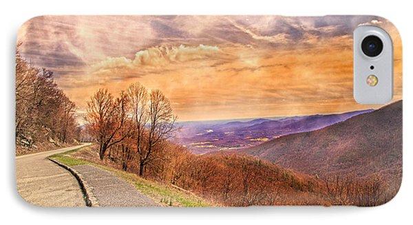 Spiritual Sunset Blue Ridge Parkway IPhone Case by Betsy Knapp