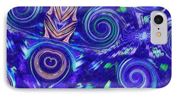Spiritual Waters IPhone Case by Alec Drake
