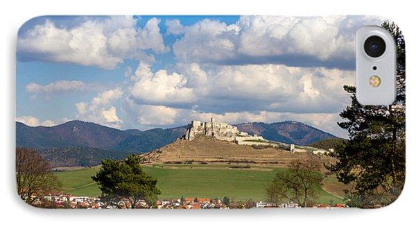 IPhone Case featuring the photograph Spissky Hrad - Castle by Les Palenik