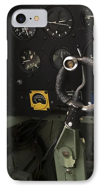 Spitfire Cockpit IPhone Case