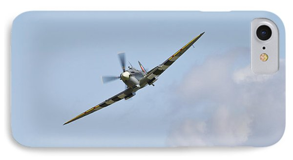 Spitfire IPhone Case by Maj Seda