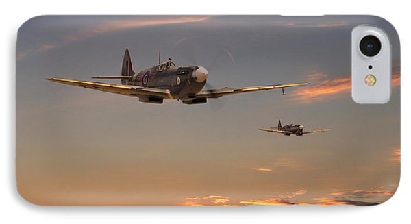 Spitfire - Mission Complete IPhone Case