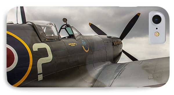 Spitfire On Display IPhone Case