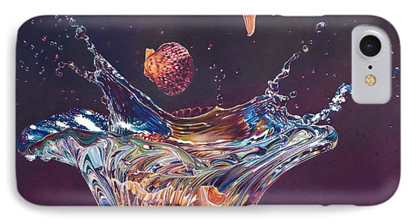 Splash Down Phone Case by Arlene Steinberg