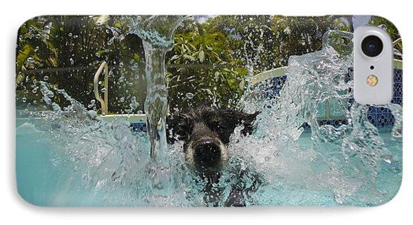 Splash Down IPhone Case by Quinn Sedam