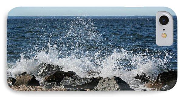 IPhone Case featuring the photograph Splash by Karen Silvestri