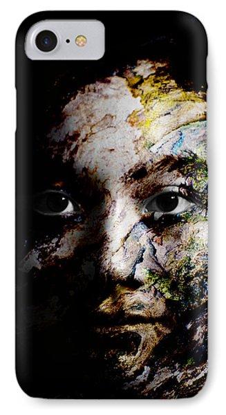 Splash Of Humanity Phone Case by Christopher Gaston