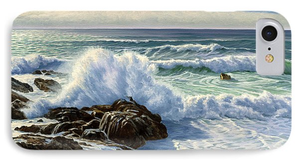 Splash Seascape IPhone Case by Paul Krapf