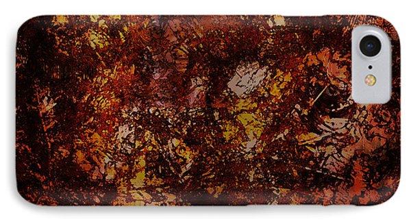 Splattered  IPhone Case by James Barnes