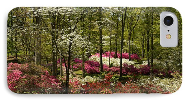 Splendor - Azalea Garden IPhone Case