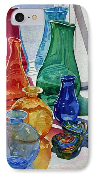 Splendor In The Glass IPhone Case by Judy Mercer
