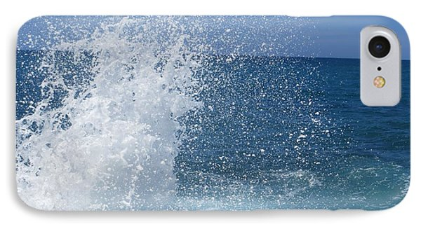 IPhone Case featuring the photograph Splash by Jean Marie Maggi