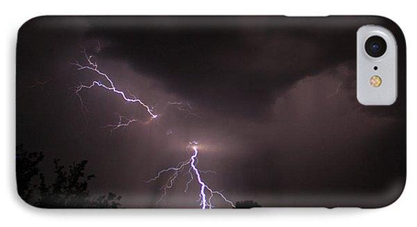 Split Bolt IPhone Case by Gary Kaylor