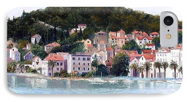 Split Harbour Croatia IPhone Case by Jan Matson