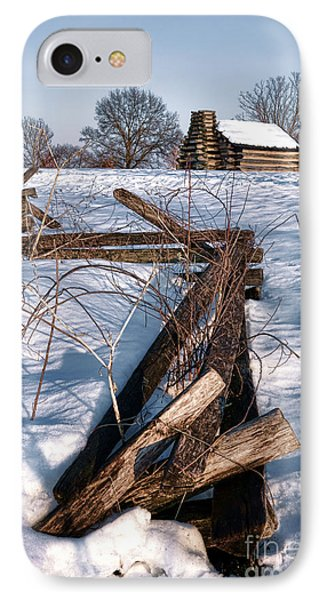 Split Rail And Nation IPhone Case