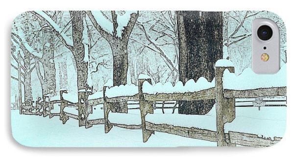 Split Rail Blues Phone Case by John Stephens