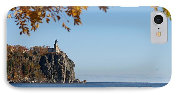 Split Rock Leaves IPhone Case by James Peterson