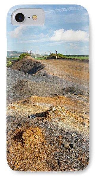 Spoil Left By Open Cast Coal Mining IPhone Case