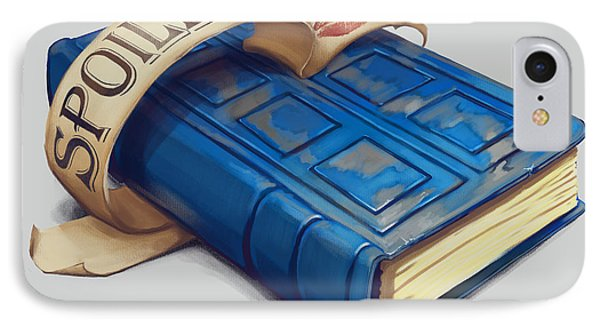 Spoilers- River Song's Tardis Journal IPhone Case
