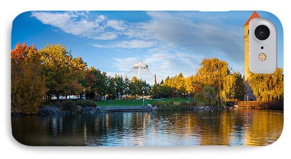 Spokane Reflections IPhone Case by Inge Johnsson