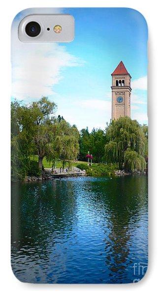 Spokane Riverfront Park Phone Case by Carol Groenen