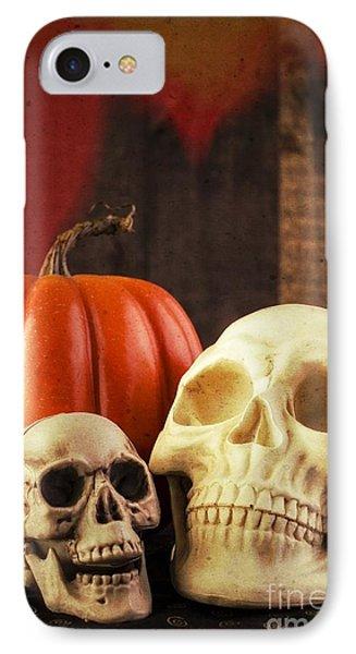 Spooky Halloween Skulls IPhone Case