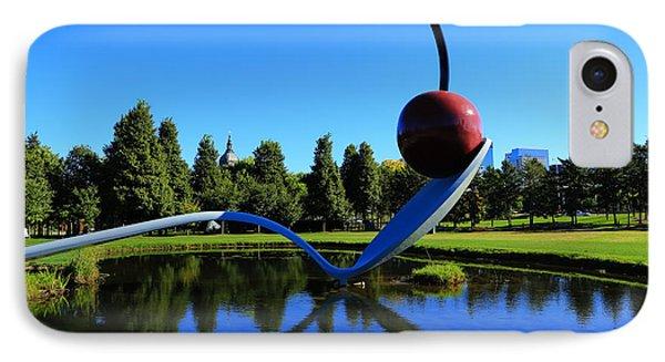 Spoonbridge And Cherry 3 IPhone Case by Rachel Cohen