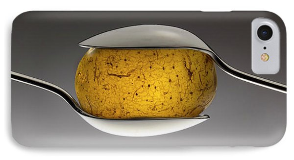 Potato iPhone 7 Case - Spooned Potato by Wieteke De Kogel