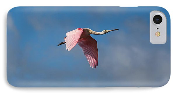 IPhone Case featuring the photograph Spoonie In Flight by John M Bailey