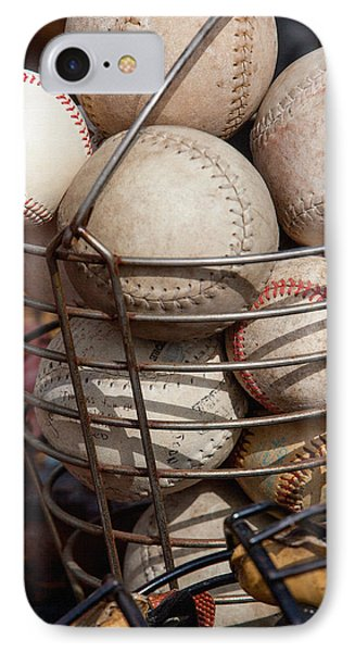 Sports - Baseballs And Softballs Phone Case by Art Block Collections