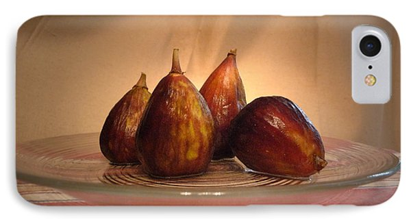 IPhone Case featuring the photograph Spotlight On Figs by Margie Avellino