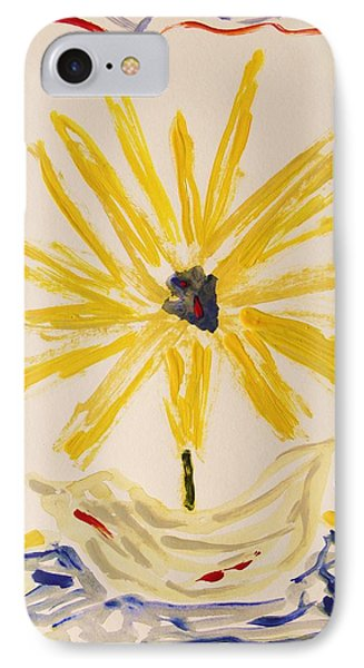 Spotlight On Yellow IPhone Case by Mary Carol Williams