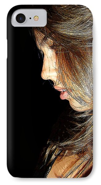 IPhone Case featuring the photograph Spotlight by Zinvolle Art