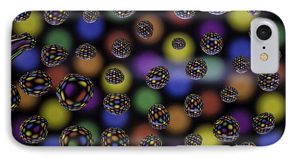 Spots And Circles Phone Case by Mark Stewart