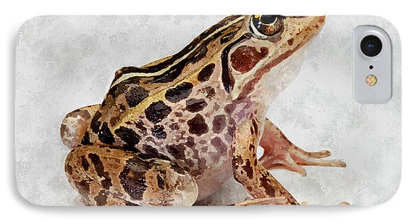 Spotted Dart Frog Phone Case by Lanjee Chee