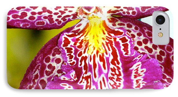 IPhone Case featuring the photograph Spotted Orchid by Lehua Pekelo-Stearns